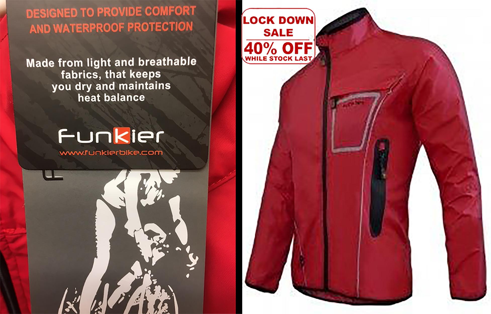 Red Funkier Jacket